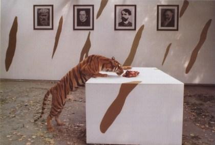 Braco Dimitrijević - Last Congress, Turin Zoo, 1989.