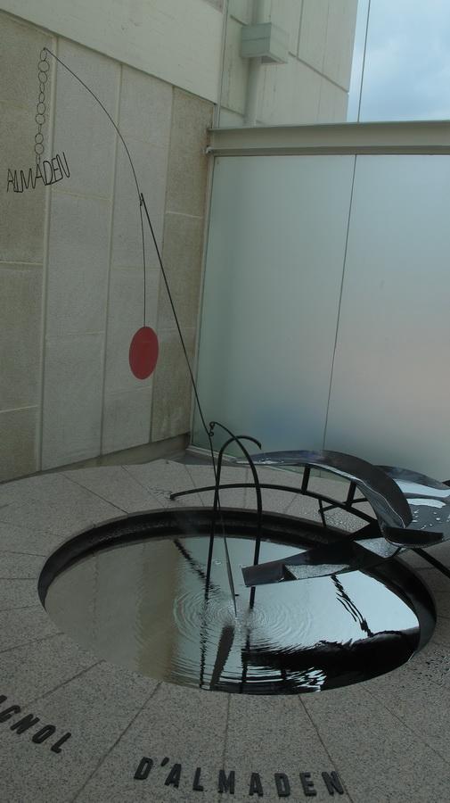 Fundació Joan Miró - fontana