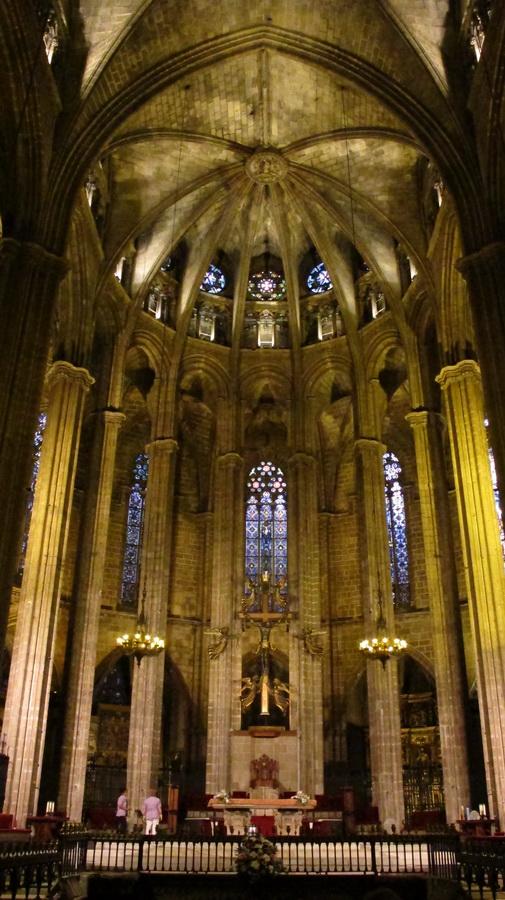 Katedrala svete Eulalije - unutrašnjost