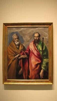 El Greco - Sant Pere i sant Pau, 1590-1600.