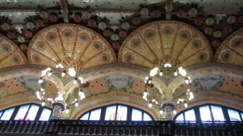 Palau de la Música Catalana - unutrašnjost - detalj