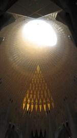 Sagrada Família - unutrašnjost