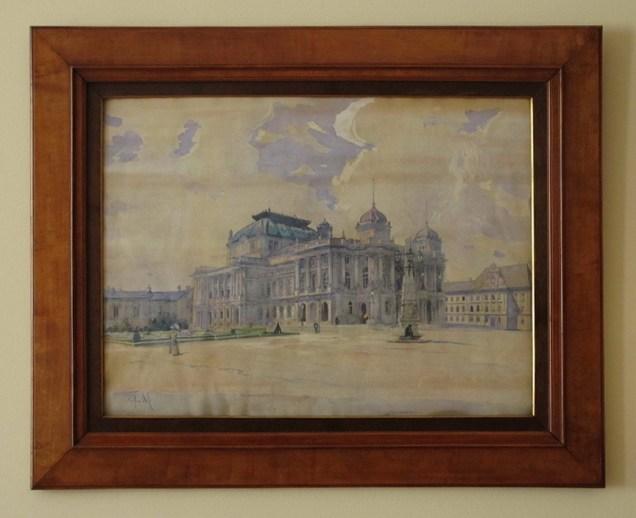 Mato Celestin Medović - Zgrada HNK, 1895-1907.