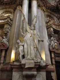 Crkva sv. Nikole - sv. Ćiril svojim štapom tjera đavla