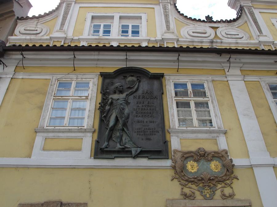 Kuća Kod dva sunca u kojoj je živio Jan Neruda