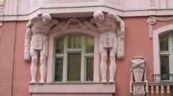 Kubistička kuća - detalj