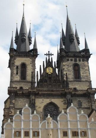 Crkva Naše Gospe ispred Týna - pročelje