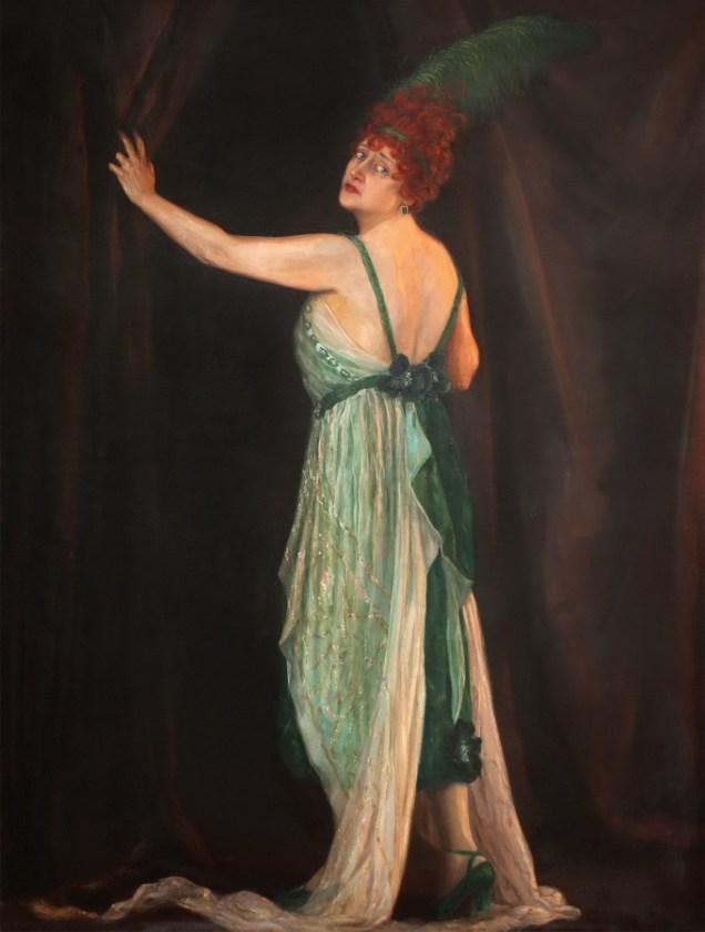 Nasta Rojc - Maja Strozzi - Pečić, 1921., ulje na platnu; 174x140