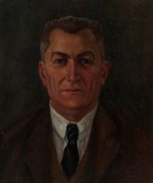 Nasta Rojc - Portret dr. Branimira Livadića, prva pol.20.st., ulje na platnu; 48x41