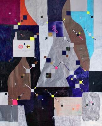 Tjorg Douglas Beer: Cosmic Cats in Cosmic Gardens, 2014.