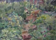Put, akvarel na papiru, 2014.