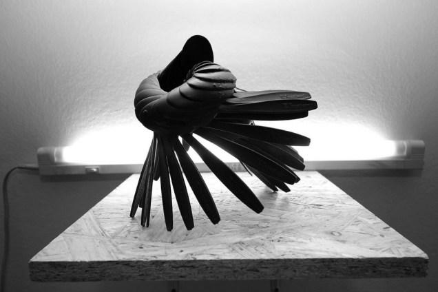 Spirala od žlica, foto: Tina Antolić