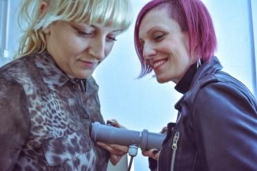 Komunikacija vibracijom tijela, foto: Bojan Koštić i Petra Travinić