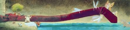 Ivan Gregov - Kravata Velog Jože (ilustracije iz slikovnice Kravata Velog Jože), 2003.