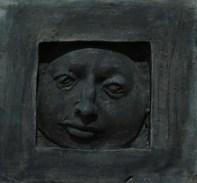Mali prozor, 1976.; reljef, terakota