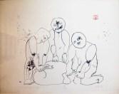 Svinjokolja V, 1960.; litografija