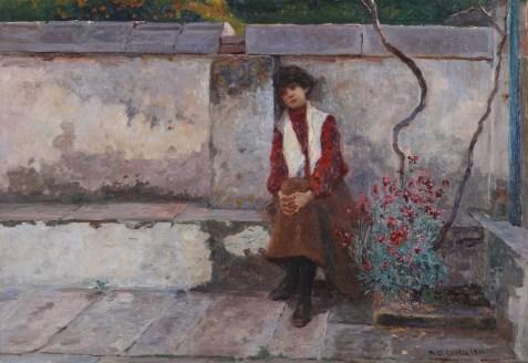 Djevojčica, 1901. - foto: Goran Vranić