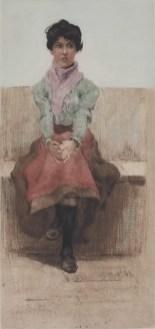 Nina, bakropis u boji, 1905. - foto: Goran Vranić