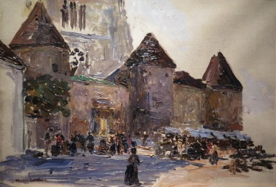 Stara katedrala, oko 1906.