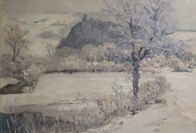 Zimski pejzaž, 1929. (detalj)
