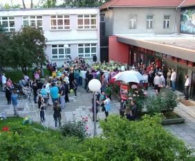 Centar KNAP - dvorište