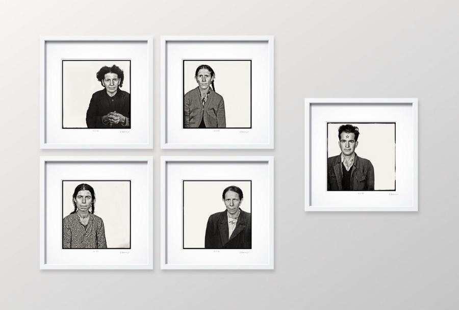 Alija M. Akšamija - Ciklus Slučajni prolaznici III, poliptih, analogna fotografija, 1953.-1964.; foto: Goran Vranić