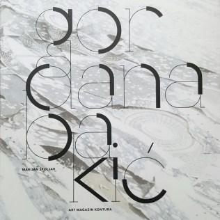 Naslovnica monografije Gordane Bakić