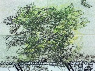 Iz serije radova Overland, 2006., akril na platnu