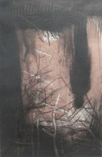 Odraz III... na zalasku, 50x33 cm, 2008.