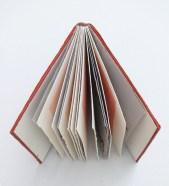 Heart Mirror VI, umjetnička knjiga, 18x20x2.5cm, 2015.