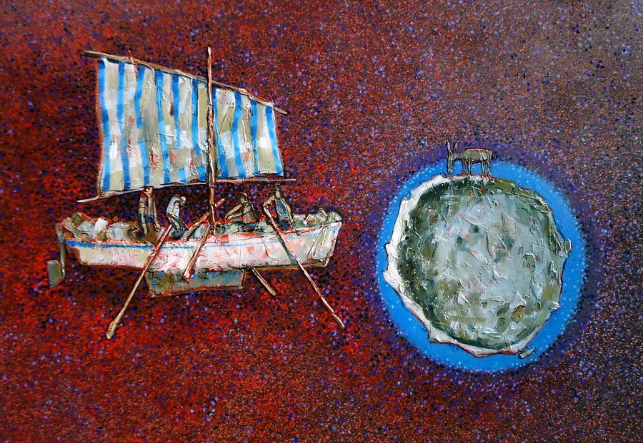 Nepoznato - akril i ulje na platnu, 2015.