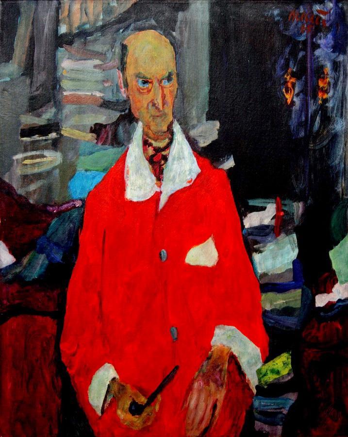 Ivo Dulčić - Portret Koste Strajnića, 1965., Umjetnička galerija Dubrovnik