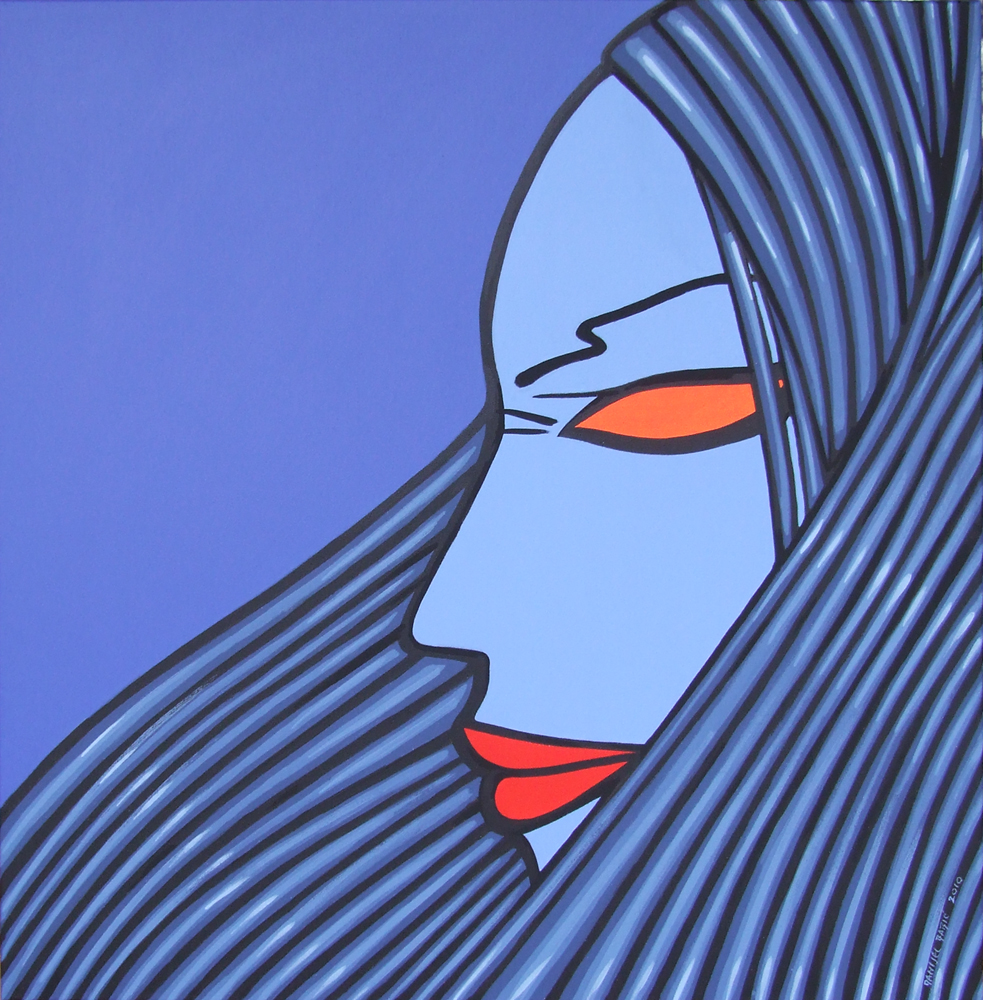 No title, 2010, 70x70 cm, acrylic on canvas