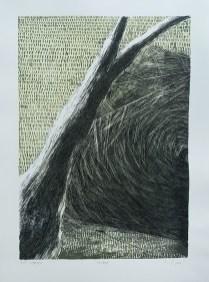 Sabina Gašparac - Mirovanje, litografija 2013/2014