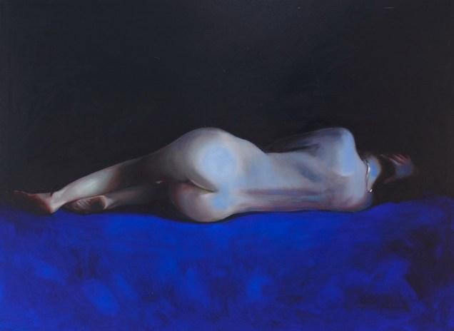 Piotr Starościc - Untitled II; ulje na platnu, 200x150 cm, 2016
