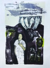 Robert Fenrich - Različito, litografija 2015/2016