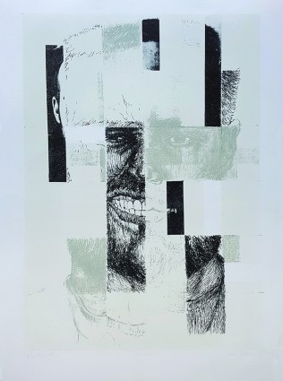 Ivica Purgar - Različito, litografija 2015/2016