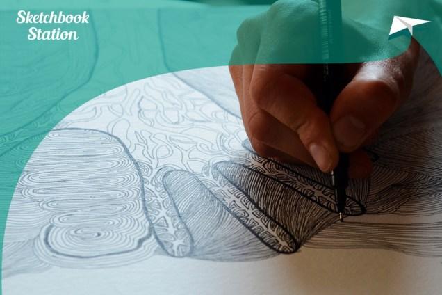 Rad Mercedes Bratoš za Sketchbook Station