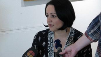 Kustosica izložbe Valentina Radoš