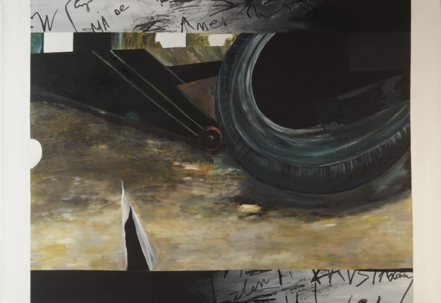 Garbage - akril na platnu, 130x90cm, 2016.