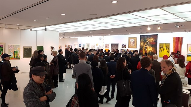 Otvorenje izložbe u Chosun Ilbo galeriji u centru Seoula