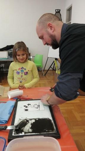Miran Šabić - Moj najdraži predmet (pronto plate litografija)