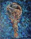 Periska- akril, miješani medij na platnu, 90 x 70cm, 2018.