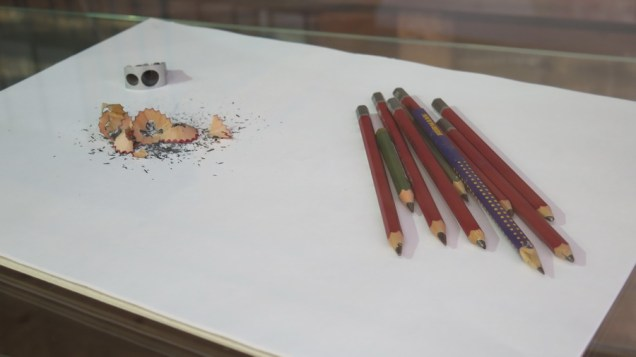 Postav izložbe - radni materijal