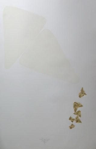 Sazviježđe - kombinirana tehnika, 107x77cm