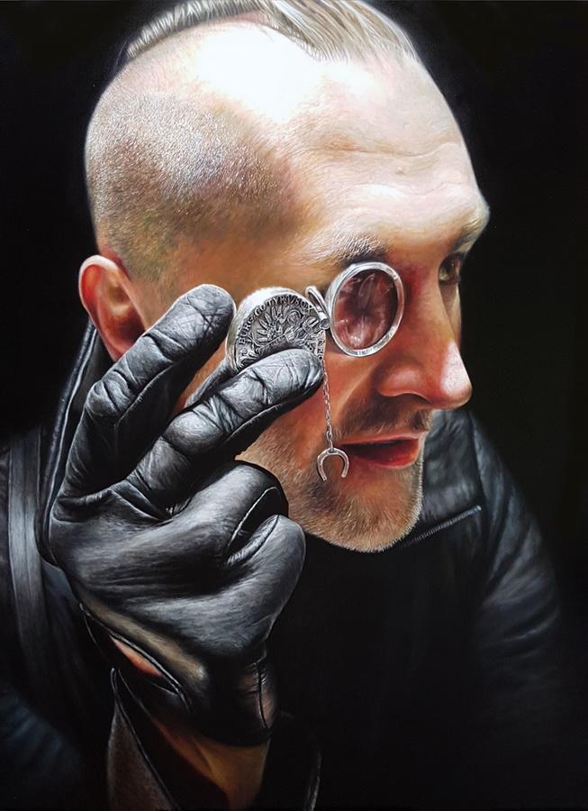 Eugen Varzić - Closer, ulje na platnu, 160x110cm, 2018.