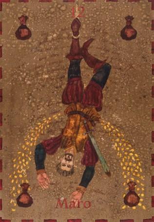 Siniša Reberski - Maro Marojev, akvarel na papiru, 50x70cm, 2019., foto: Josip Strmečki