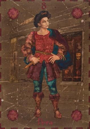 Siniša Reberski - Pera Marova, akvarel na papiru, 50x70cm, 2019., foto: Josip Strmečki