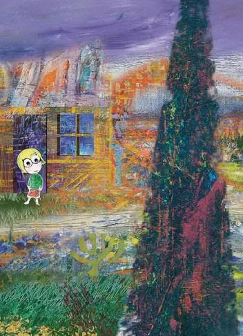 Svebor Vidmar - Pripovijetke iz jednog dječjeg doma; digitalna grafika, 2008.