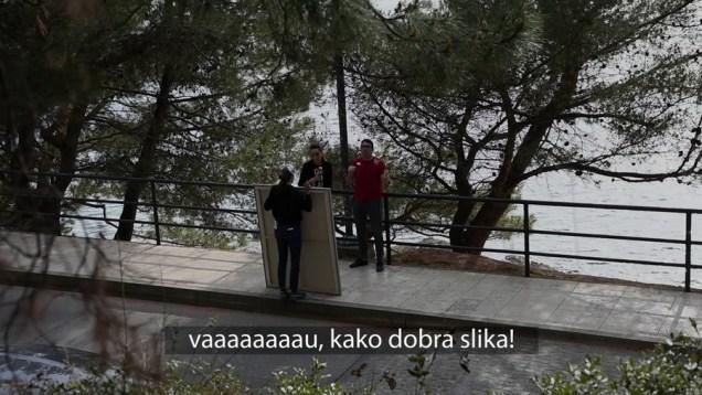 Isječak iz virtualne izložbe Gorane Težak - ispitivanje javnog mnijenja